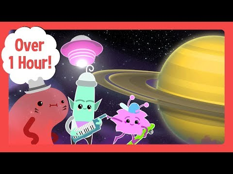 The Solar System Song And More Learning Videos For Toddlers | Toddler Fun Learning