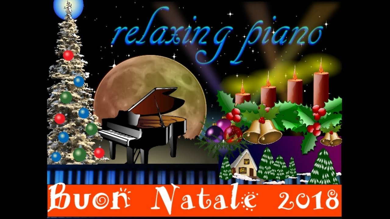 Buon Natale Karaoke.Buon Natale 2018 Da Relaxing Piano Cover White Christmas No Lyrics No Karaoke