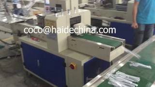 high speed automatic individual fork,spoon,knife packaging machinery
