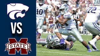 Week 3 2019 Kansas State Vs Mississippi State Full Game Highlights 9142019