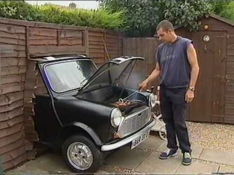 unique mini car barbecue bites back funny ending youtube. Black Bedroom Furniture Sets. Home Design Ideas