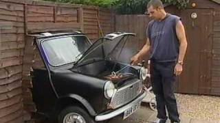 Unique Mini Car Barbecue Bites Back! Funny Ending