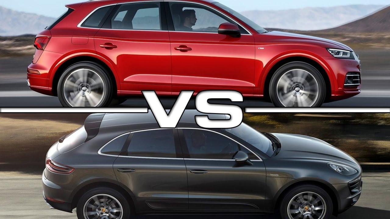 Audi Q5 vs Porsche Macan