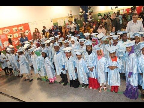 Twin Cities International Elementary School kindergarten graduation 2014
