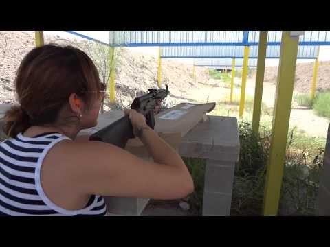 Jackie Shoots the Kalashnikov (IZ-132) at 200 yards