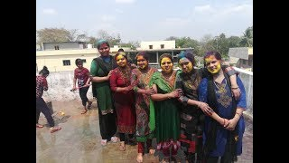 BHEL STAFF HOLI CELEBRATION AT BADHRACHALAM AND ASHWAPURAM (MANUGURU SITE)