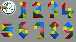 Learn to play Tangram Number