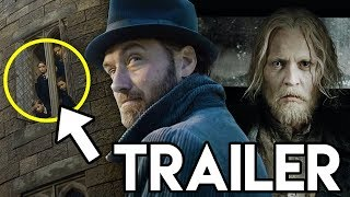 Fantastic Beasts 2 Trailer BREAKDOWN - Grindelwald & Hogwarts