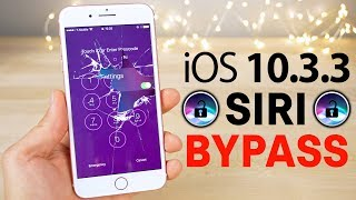 New Siri Lockscreen Bypass on iOS 10.3.3! Disable Cellular Data, Read Texts & More