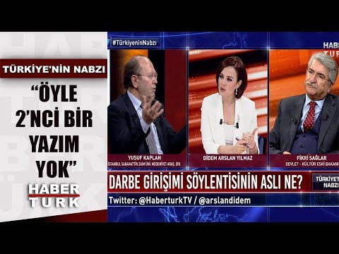 Yusuf Kaplan'ın eski yazıları okununca ortam gerildi |  Türkiye'nin Nabzı - 19 Şubat 2020