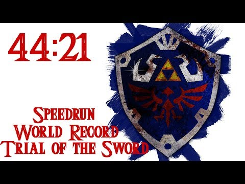 Zelda: BotW - Trial of the Sword Speedrun (44:21)