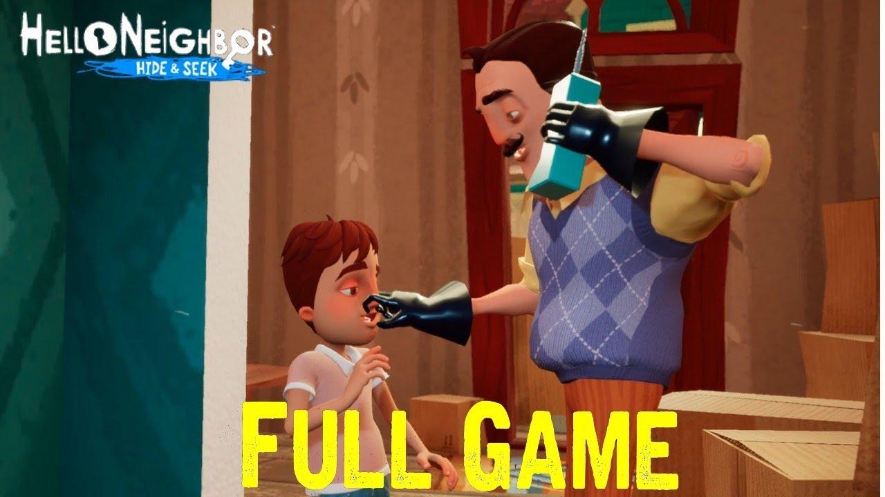 Hello Neighbor Hide And Seek Full Playthrough Gameplay