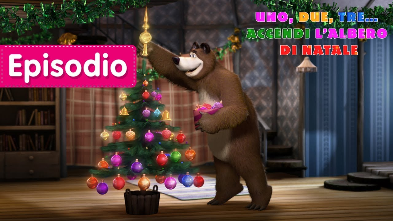 Buon natale masha e orso