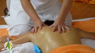 massaggio decontratturante schiena e spalle