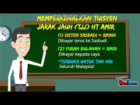 Home Tutor Malaysia - Tuisyen Jarak Jauh Seluruh Malaysia dengan HT Amir