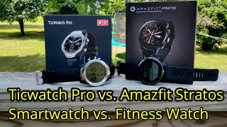 Video Ticwatch Pro vs. Amazfit Stratos: Which is right for you? download MP3, 3GP, MP4, WEBM, AVI, FLV Oktober 2018