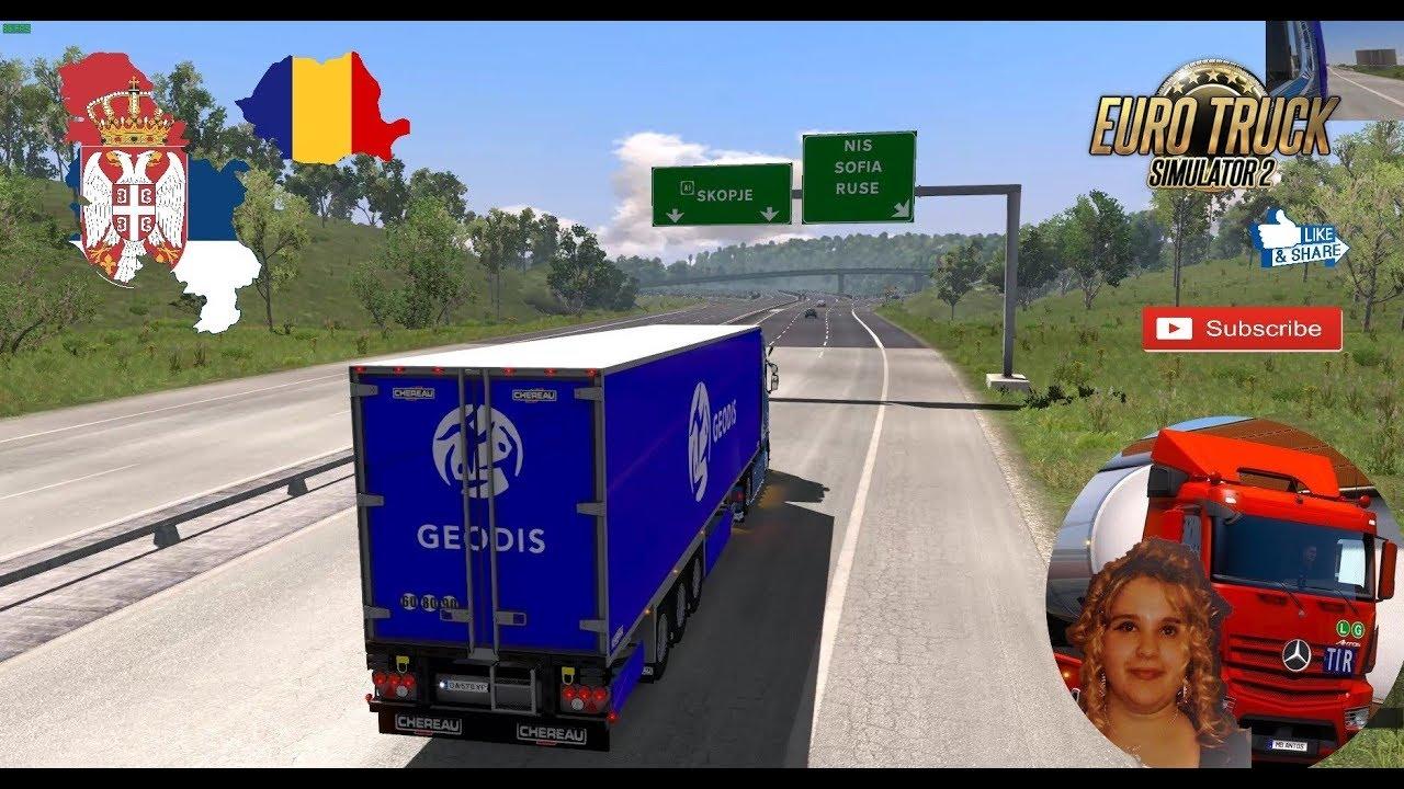 Euro Truck Simulator 2 1 31 Romania Map Road To Serbia Belgrado