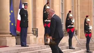 Rama ne Paris, takon Presidentin francez Macron ABC News Albania