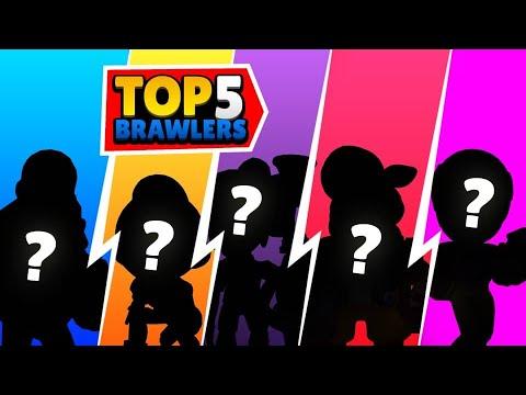 TOP 5 BRAWLERS IN THE BRAWL STARS META [MAY 2020]