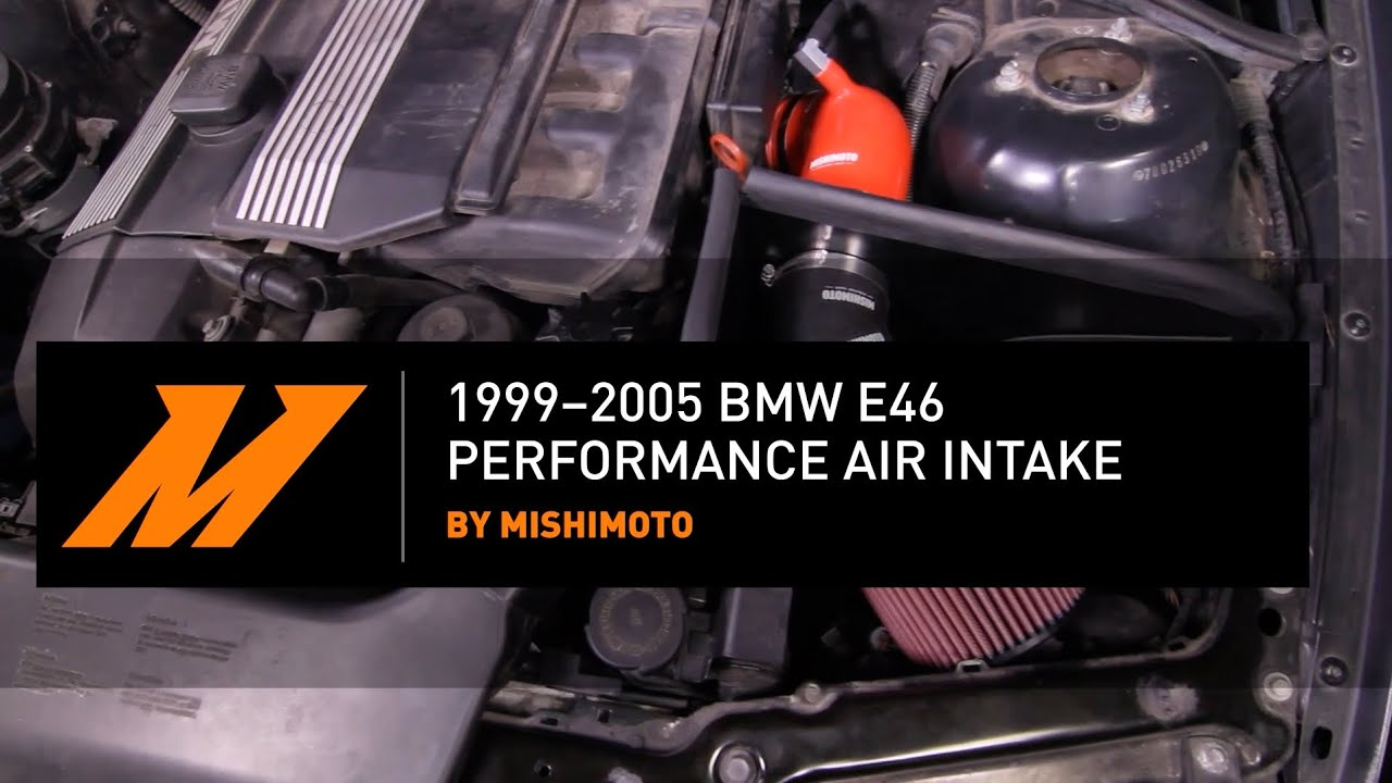 1999 2005 Bmw E46 Performance Air Intake Installation Guide By Mishimoto
