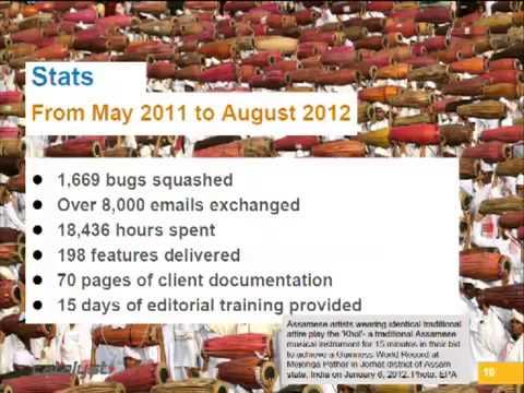 DrupalCon Sydney 2013 News & Media Case Study South China Morning Post