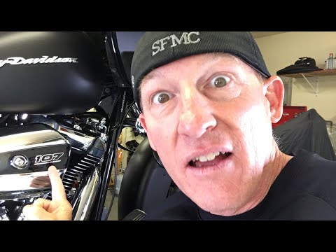 Filming Harley-Davidson Milwaukee-Eight Service, Oil Change & Safety Inspection
