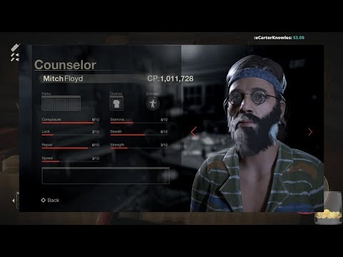 Mitch isn't the only new counselor we're getting! Friday the 13th new counselor information and news