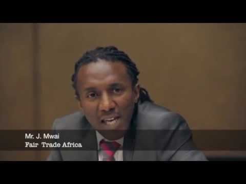 Mr. James Mwai, Fair Trade Africa