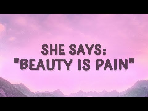 Alessia Cara - Beauty is pain (Scars To Your Beautiful) (Lyrics)