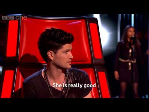 The Voice UK 2013 - Abi Sampa performs 'Stop Crying Your Heart Out' [HD]