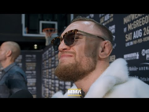 Thumbnail: Conor McGregor Reacts to Brooklyn World Tour Stop, Vows to Eventually 'Run Showtime Too'