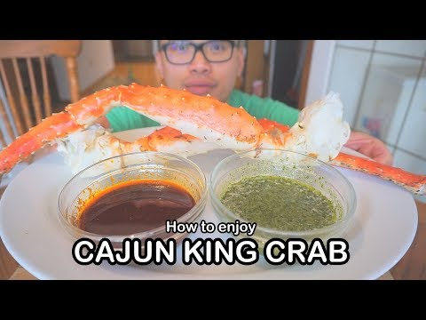 How to enjoy CAJUN KING CRAB