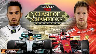 SILVER V RED - CLASH OF CHAMPIONS (Vettel vs Hamilton F1 2017)