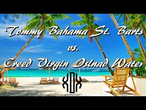 Vacation In A Bottle? - St. Barts vs. Virgin Island Water