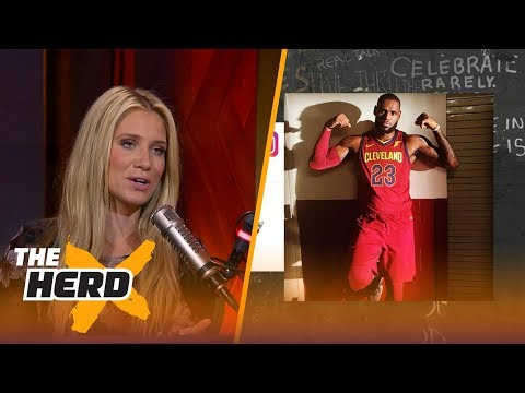 """LeBron James posts 'Welcome to the Terrordome!!"""" - Kristine and Gottlieb react 
