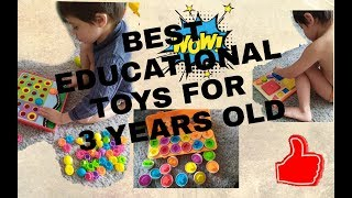Best Educational Cheap Toys For 3 Years Old || Problem Solving