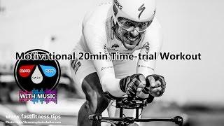 Turbo-training or FTP test 20min motivational footage (128bpm music) like FREE Sufferfest workout