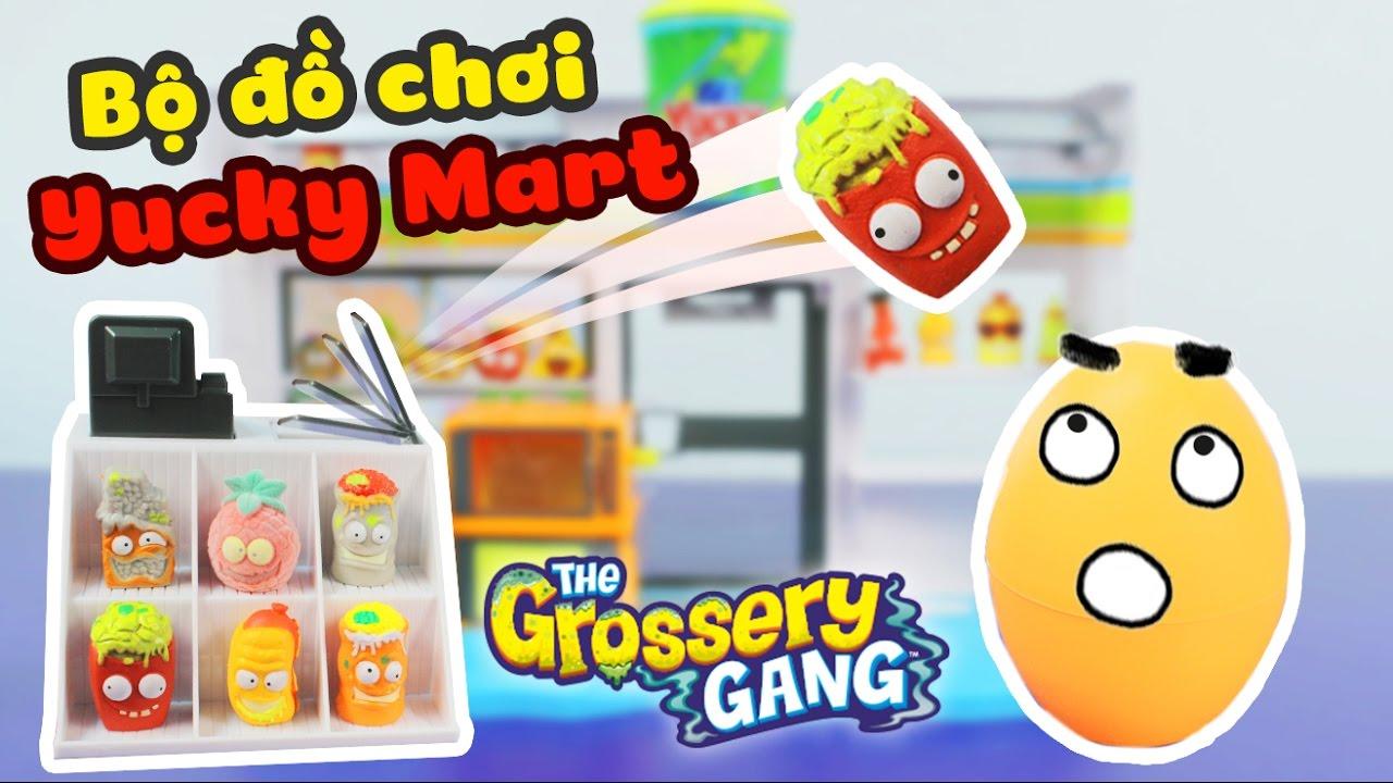 Grossery Gang Bộ đồ chơi Yucky Mart quậy banh nhà – ToyStation 33