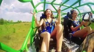 Jazda Monster Truck Buggy w fotelu pasażera – Warszawa video