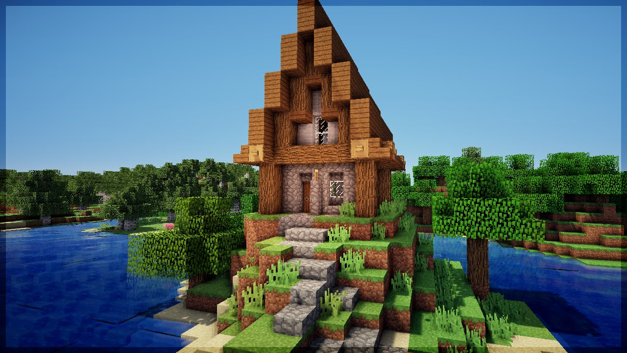 Minecraft construa casas de villagers simples e bonitas youtube for Videos de casas bonitas