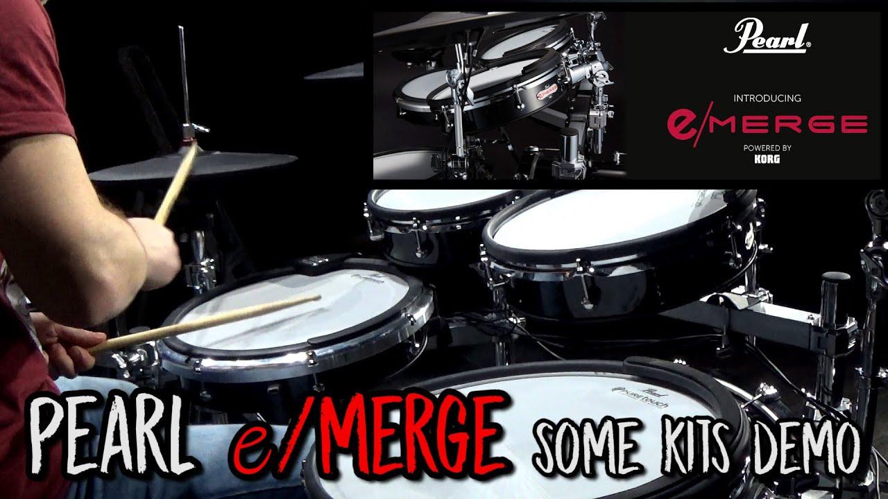 Pearl e/Merge some kits demo