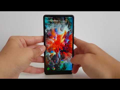 First Look at the Xiaomi Mi Mix 2 Form Factor