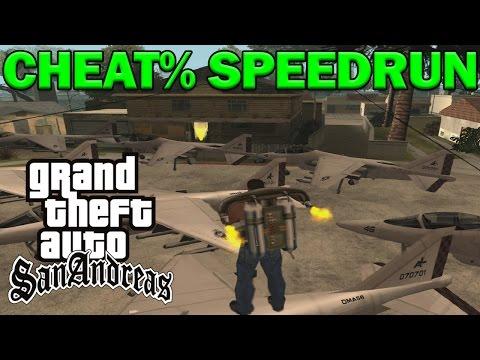 Grand Theft Auto: San Andreas - CHEAT% - Any%