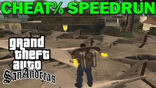 Grand Theft Auto: San Andreas - CHEAT% - Any%
