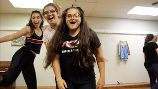WE TRIED TO TAKE A DANCE CLASS !! // VLOG