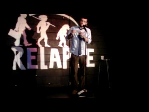 James Peck at Relapse Theater