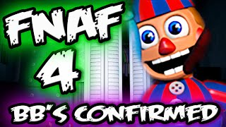 FNAF 4 BALLOON BOY'S NEW DESIGN || BB & JJ Confirmed || Five Nights at Freddy's 4 Balloon Boy Teaser
