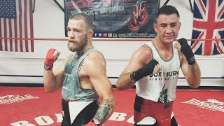 McGregor Training With Former Boxing Champion