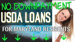 SDA Housing Loan Program - USDA Loans Available in Maryland