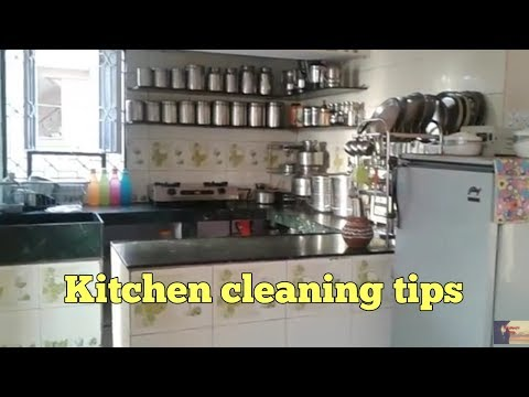 Easy kitchen cleaning tips... Robineetu vlogs